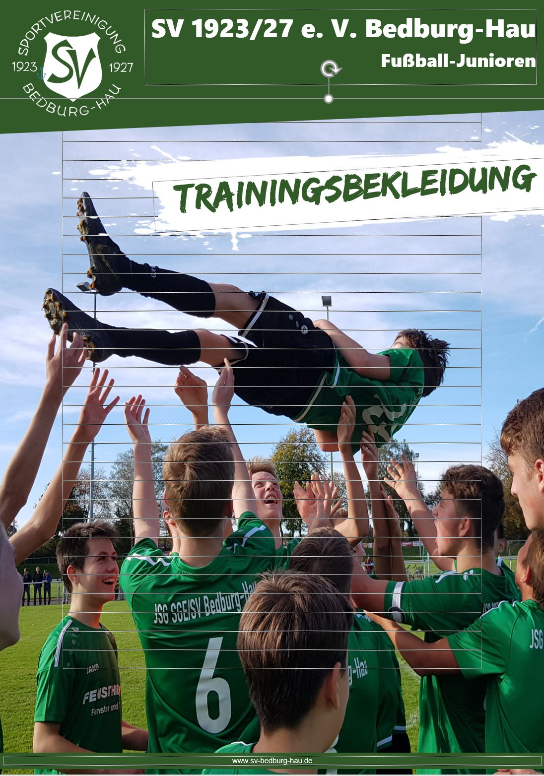 trainingsbekleidung